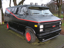 A-Team Replica Van