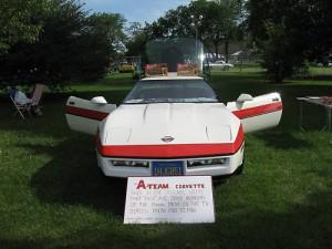A-Team Corvette 2010 auf Ebay
