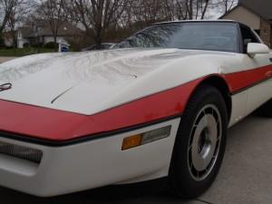 A-Team Corvette Kotflügel links Face